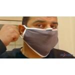 Μάσκα Προφύλαξης PRO με Επιρρίνιο Έλασμα και Θέση για Φίλτρο